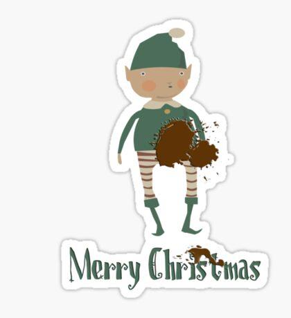 My Special Christmas Tshirt Sticker