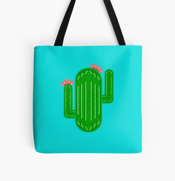 Cactus Pool Float All Over Print Tote Bag