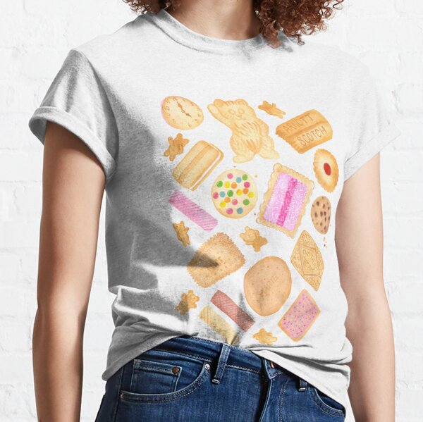 Assorted Biscuits - Pink Classic T-Shirt
