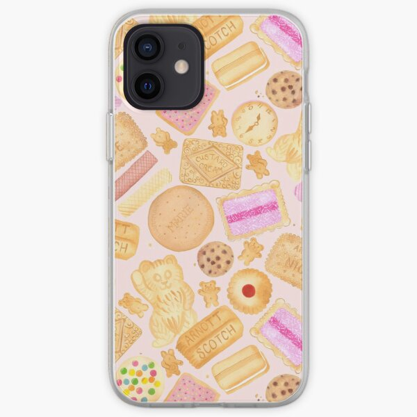 Assorted Biscuits - Pink iPhone Soft Case
