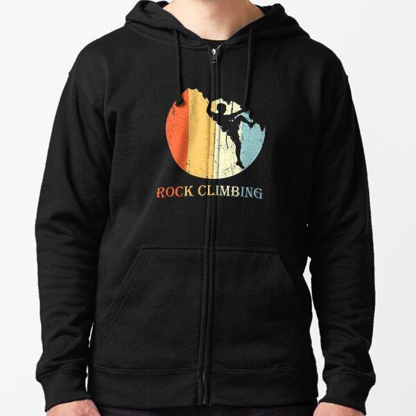 Rock Climb Mountain Climbing Rock Climbing Moon Kids // Childrens Hoodie