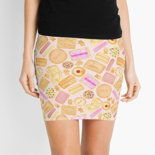 Assorted Biscuits - Pink Mini Skirt
