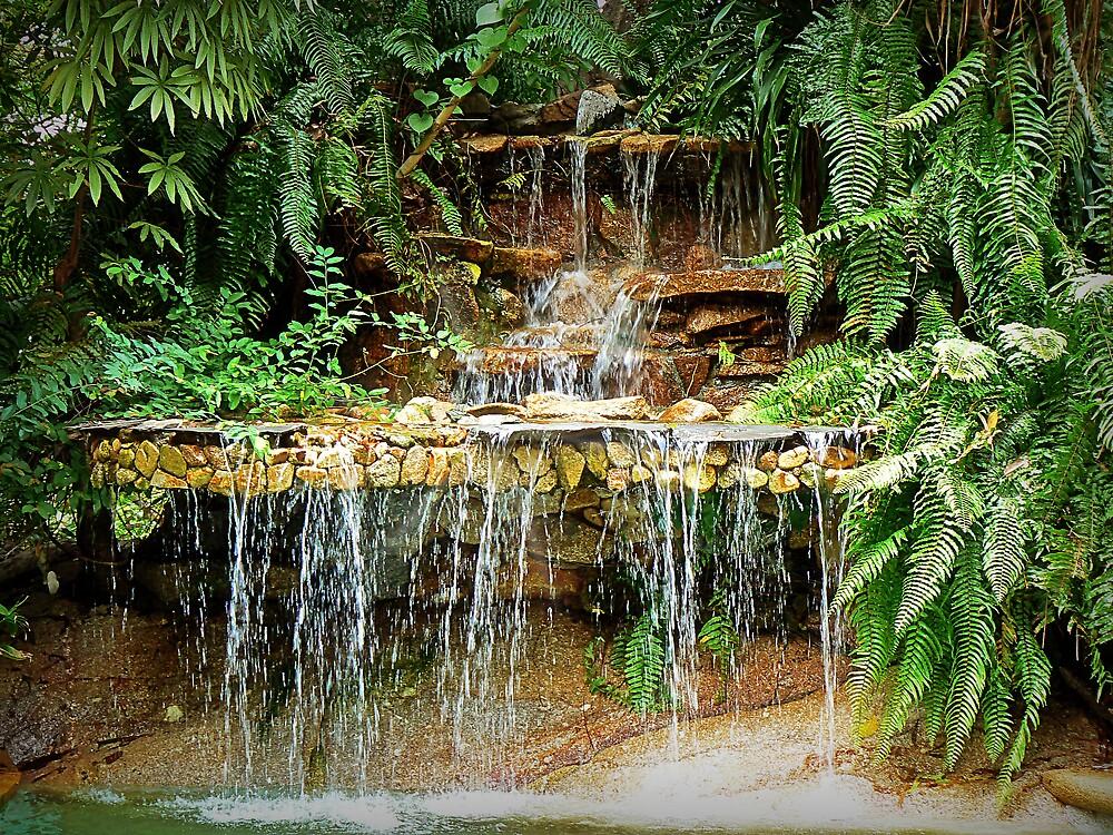 Jungle waterfall by Maistora
