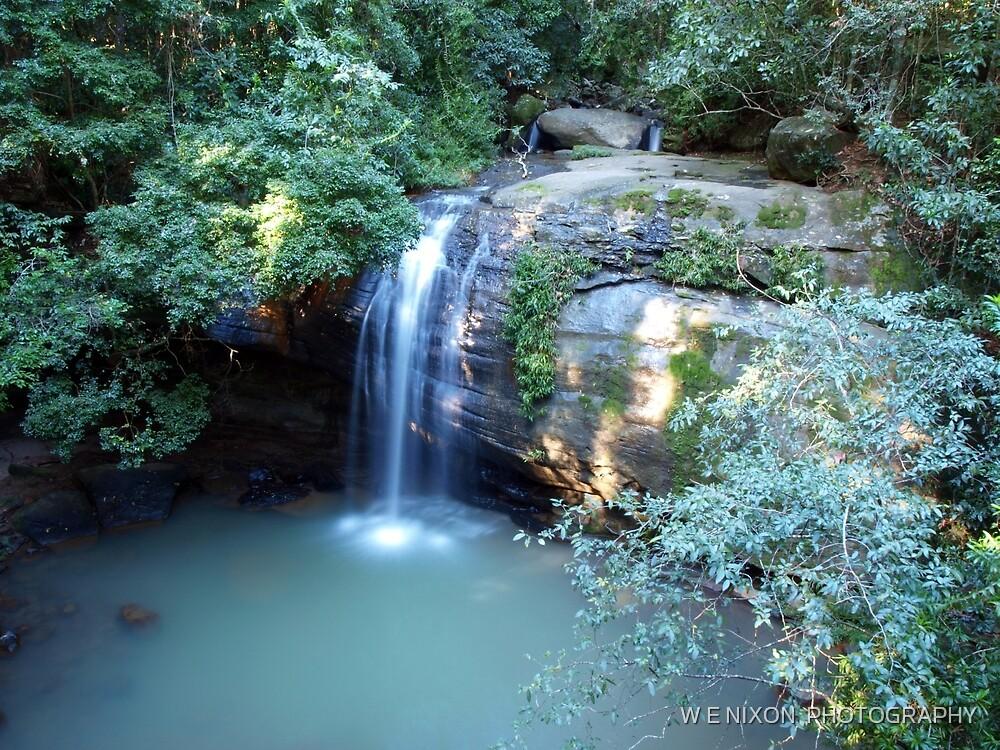 Serenity Falls by W E NIXON  PHOTOGRAPHY