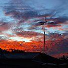 SUBURBAN SUNSET by W E NIXON  PHOTOGRAPHY
