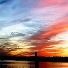 Louisiana Coastal Sunset II by KSkinner