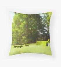 Ladew's Topiary Hunt Throw Pillow