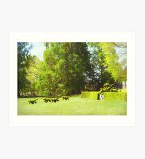 Ladew's Topiary Hunt Art Print