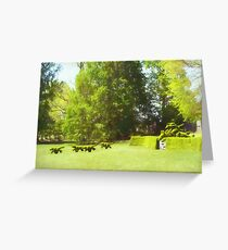 Ladew's Topiary Hunt Greeting Card