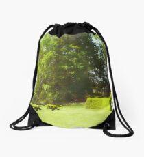 Ladew's Topiary Hunt Drawstring Bag