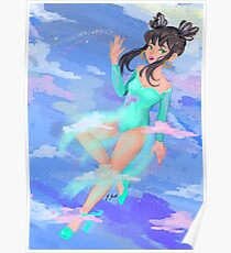 Magical Cotton Girl Poster