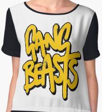 Gang Beasts Women's Chiffon Top