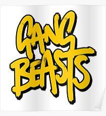 Gang Beasts Poster