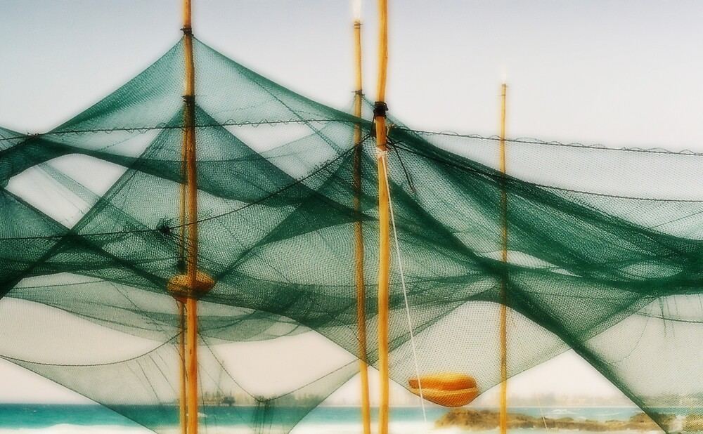 Fishing nets by ephedream