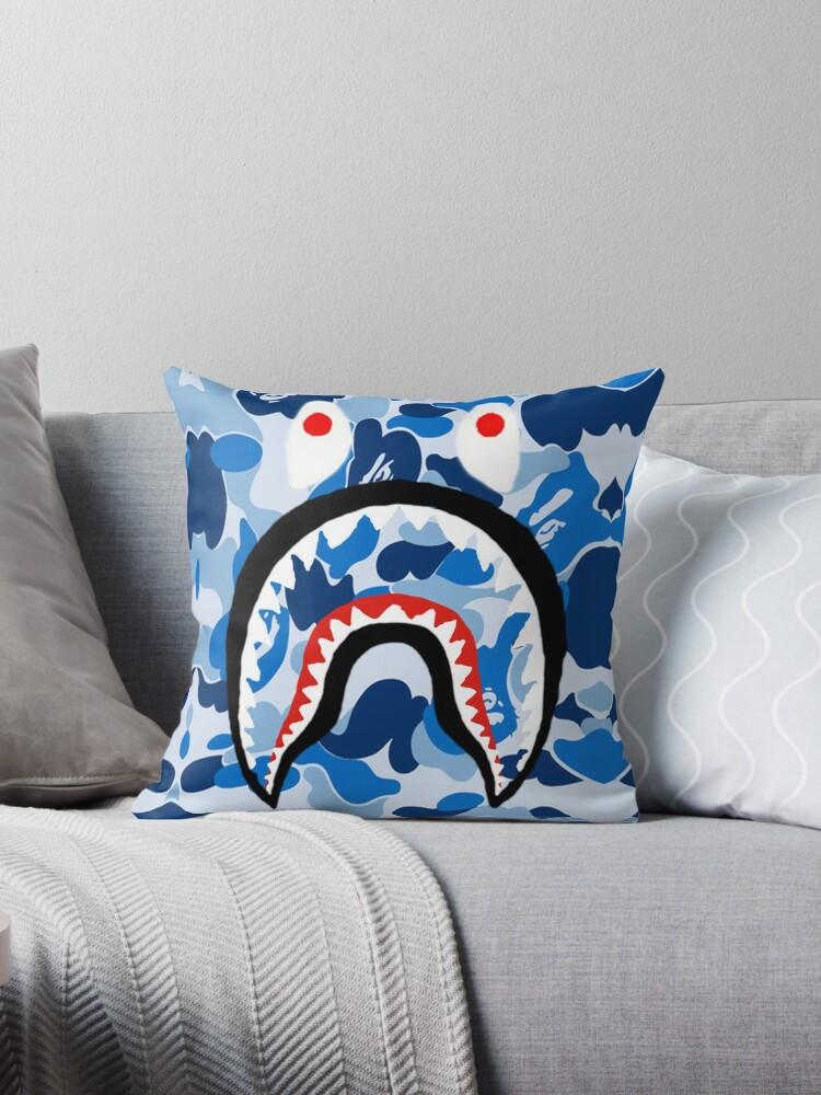 Ein Badeaffe Blau Haifisch Von ScottThomas