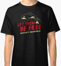 Let Them Be Free Boycott Seaworld FD161 Best Product Classic T-Shirt