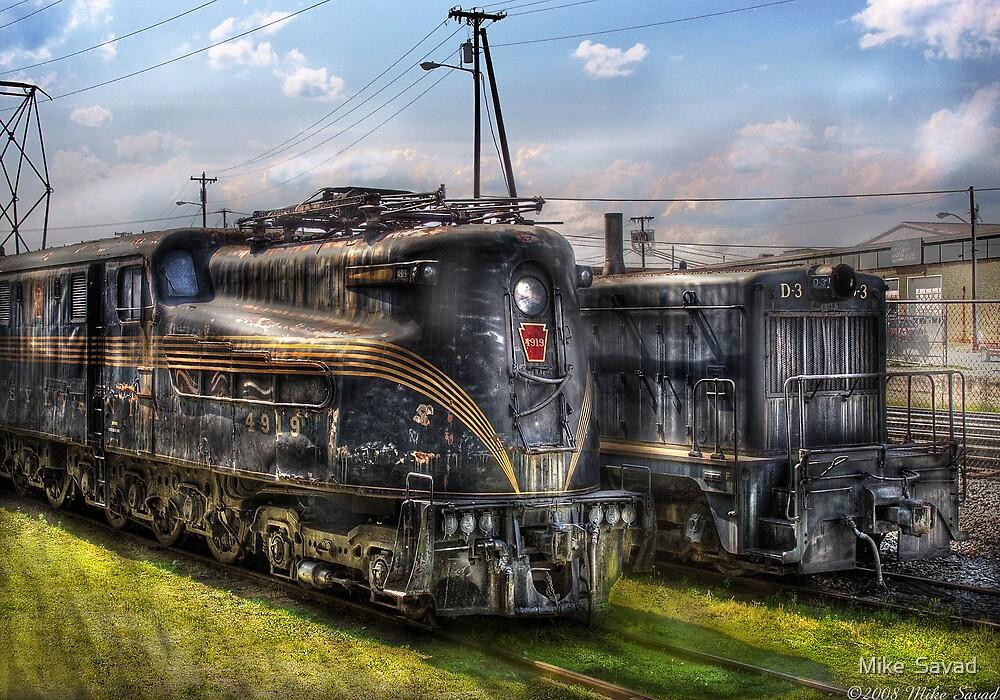 2-c-c-2 - Pennsylvania Railroad electric locomotive  #4919  by Michael Savad