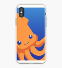 Squid icon iPhone Case