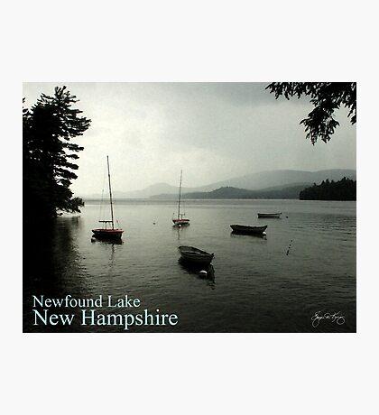Newfound Lake Poster Photographic Print