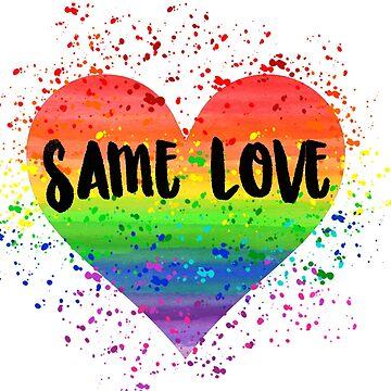 Same Love Heart by AnnieKress