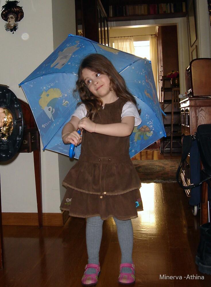 Umbrella Time by Minerva -Athina