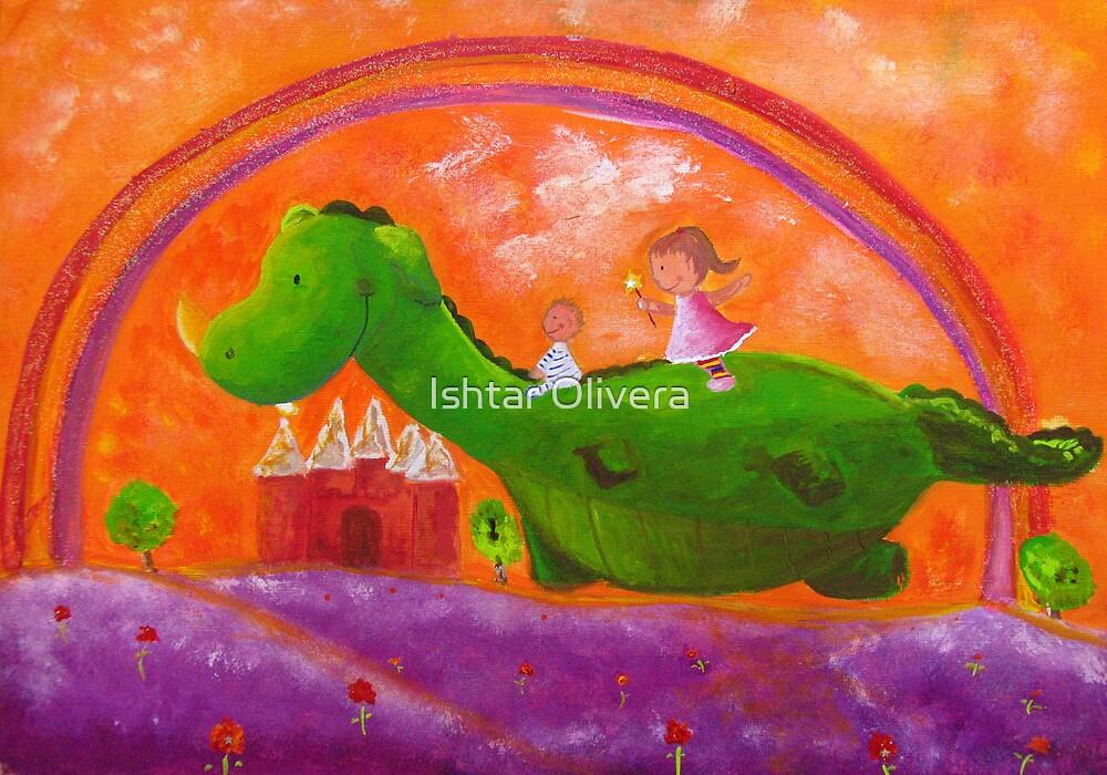 Pepa and the Dragon by Ishtar Olivera