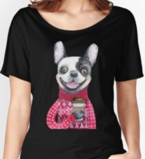 Coffee Dog Women's Relaxed Fit T-Shirt