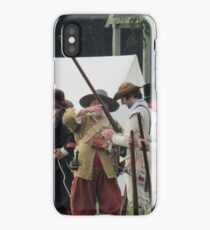 Reenactment time iPhone Case