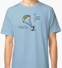 Kiteboarding, sketch for your design Classic T-Shirt