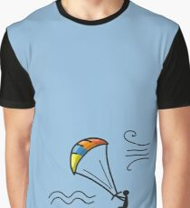 Kiteboarding, sketch for your design Graphic T-Shirt