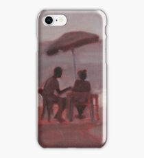 Couple at the Beach iPhone Case/Skin