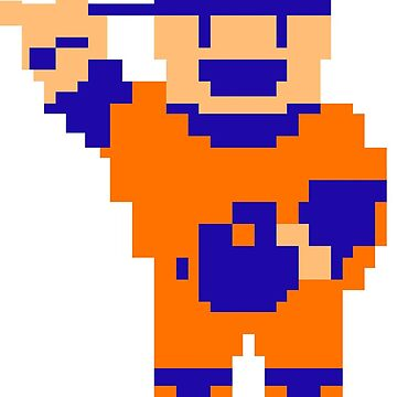 R.B.I. Baseball 8-bit - New York (NL) by CasualBiscuits