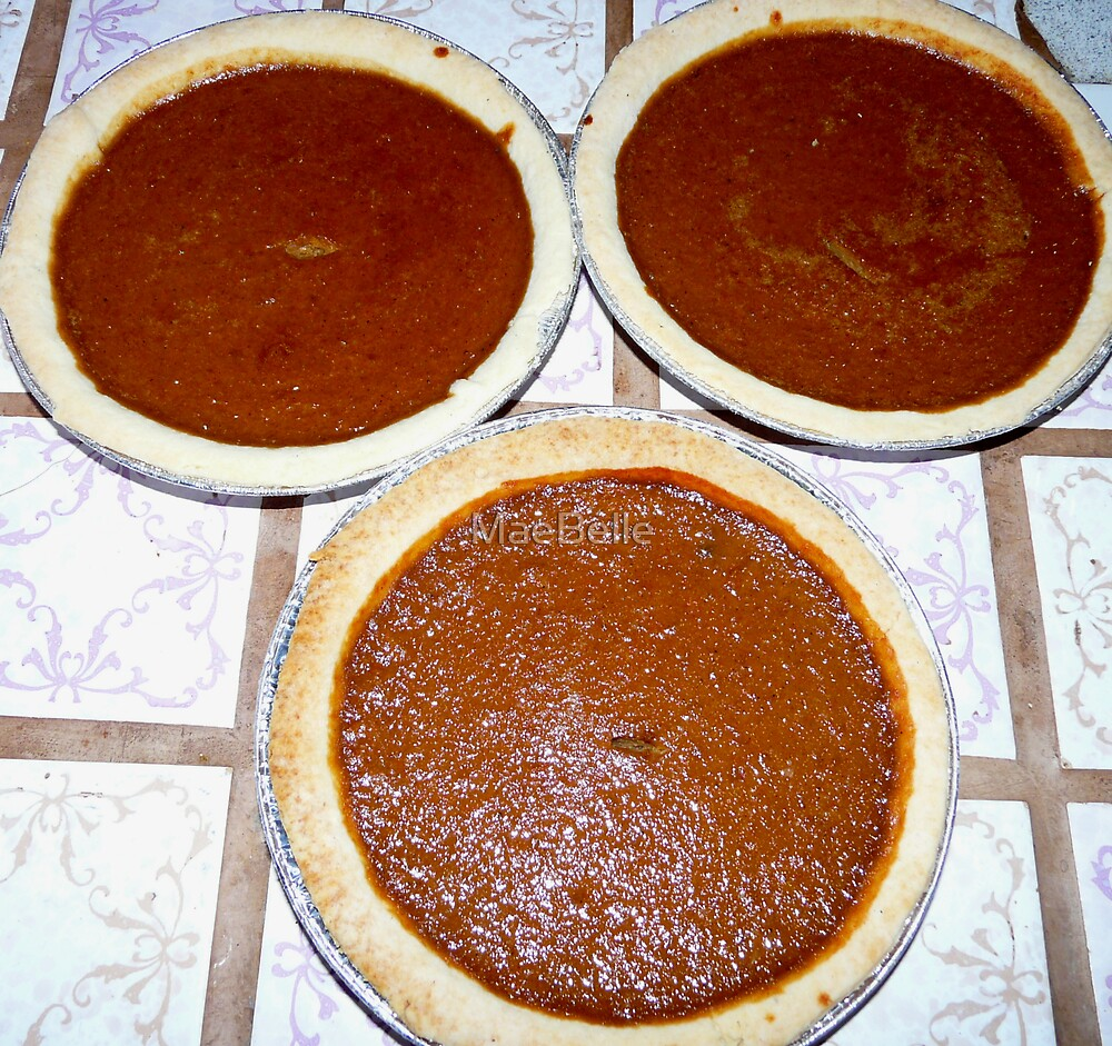 Pumpkin Pies (Face) by MaeBelle