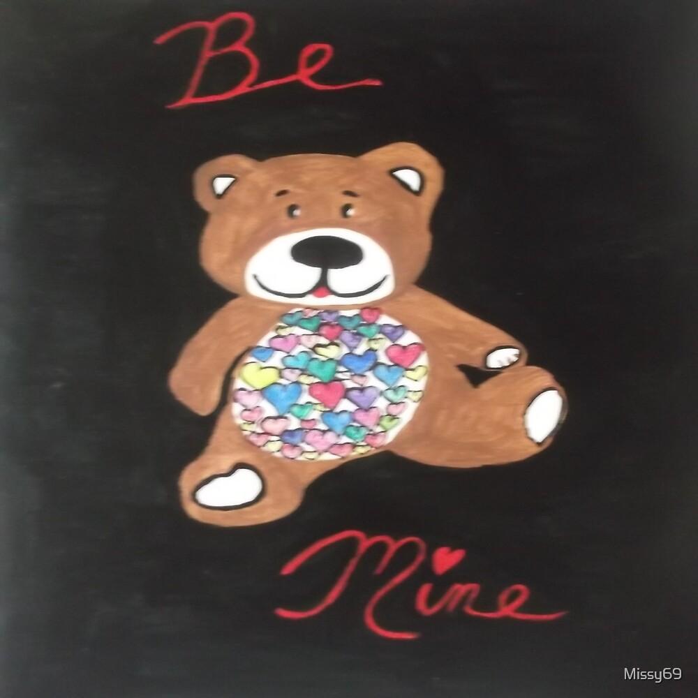 Be Mine Valentines DayTeddy Bear by Missy69