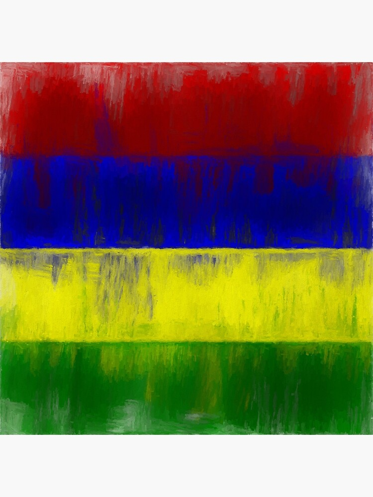 Mauritius Flag Reworked No. 1, Series 2 by 8th-and-f