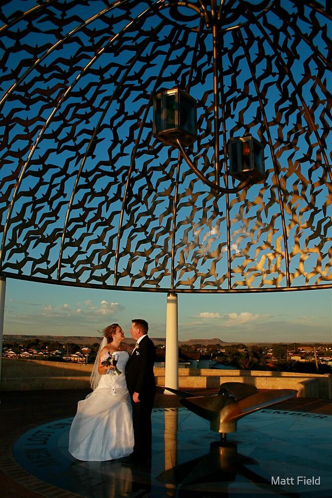 Wedding shot by Matt Field