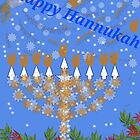 Happy Hannukah by Maire33