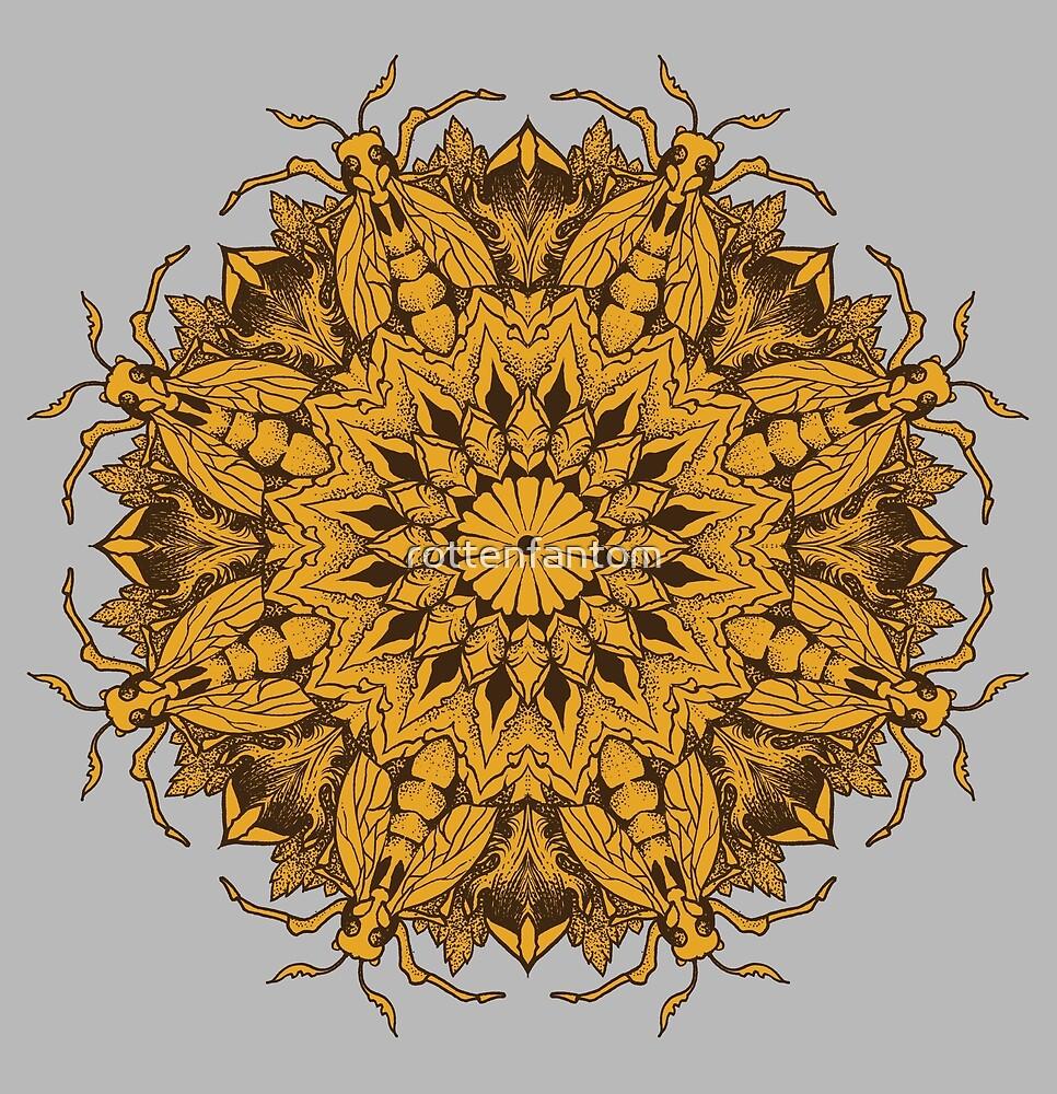 Mandala 1 by rottenfantom
