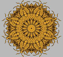 Mandala 1 by rottenfantom