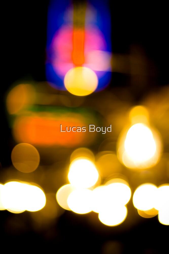 Market lights by Lucas Boyd