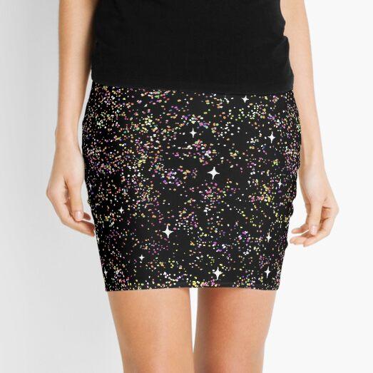 100s & 1000s - Galaxy Mini Skirt