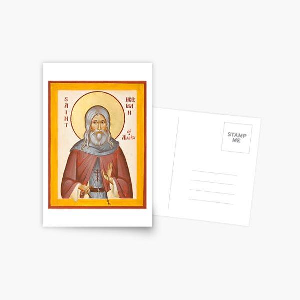 St Herman of Alaska Postcard