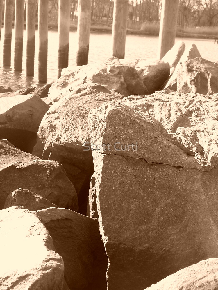 sepia rock by Scott Curti