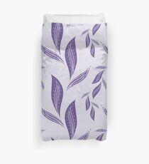 Ultraviolet Foliage #redbubble #pattern #ultraviolet Duvet Cover