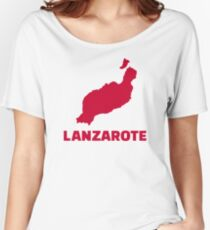 Lanzarote Women's Relaxed Fit T-Shirt