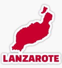 Lanzarote Sticker