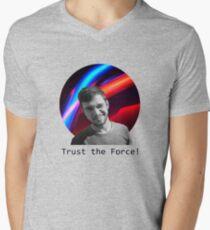 Trust The Force Men's V-Neck T-Shirt