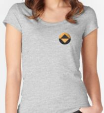 Reboot Guardian Icon (3D render) Women's Fitted Scoop T-Shirt