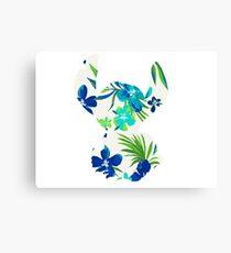 Tropical Stitch Canvas Print