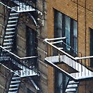 City Snowfall III by Judith Oppenheimer